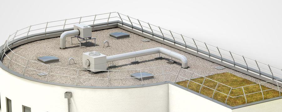 dani alu equipements en toiture terrasse fix s ou lest s. Black Bedroom Furniture Sets. Home Design Ideas