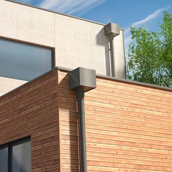 dani alu aquadrop collecteur descente eau pluviale aluminium boite eau. Black Bedroom Furniture Sets. Home Design Ideas