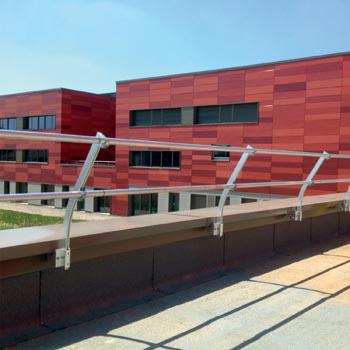dani alu s curit professionnelle garde corps toiture terrasse aluminium protection chute. Black Bedroom Furniture Sets. Home Design Ideas