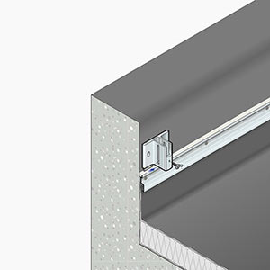 garde-corps de sécurité en aluminium Barrial sabot A5r rabattable solution simple et économique