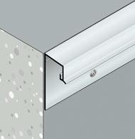 Système de rejet d'eau pour façade et nez de balcon