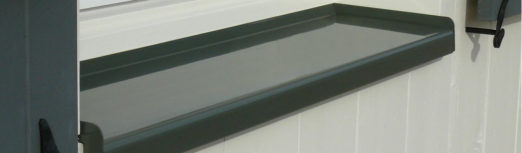 Dani Alu Protegenet Bavette Appui De Fenetre Aluminium Sur Mesure Laque
