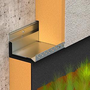 Dani alu solinet d part d 39 isolant solin aluminium ite for Produit etancheite terrasse