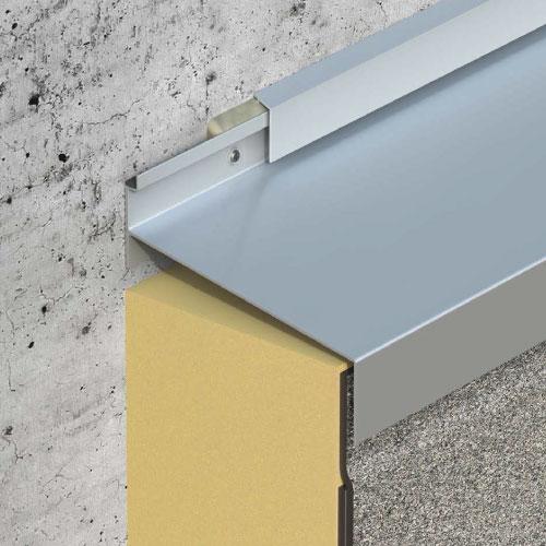 dani alu solinet bande de solin solins aluminium tanch it toiture terrasse. Black Bedroom Furniture Sets. Home Design Ideas