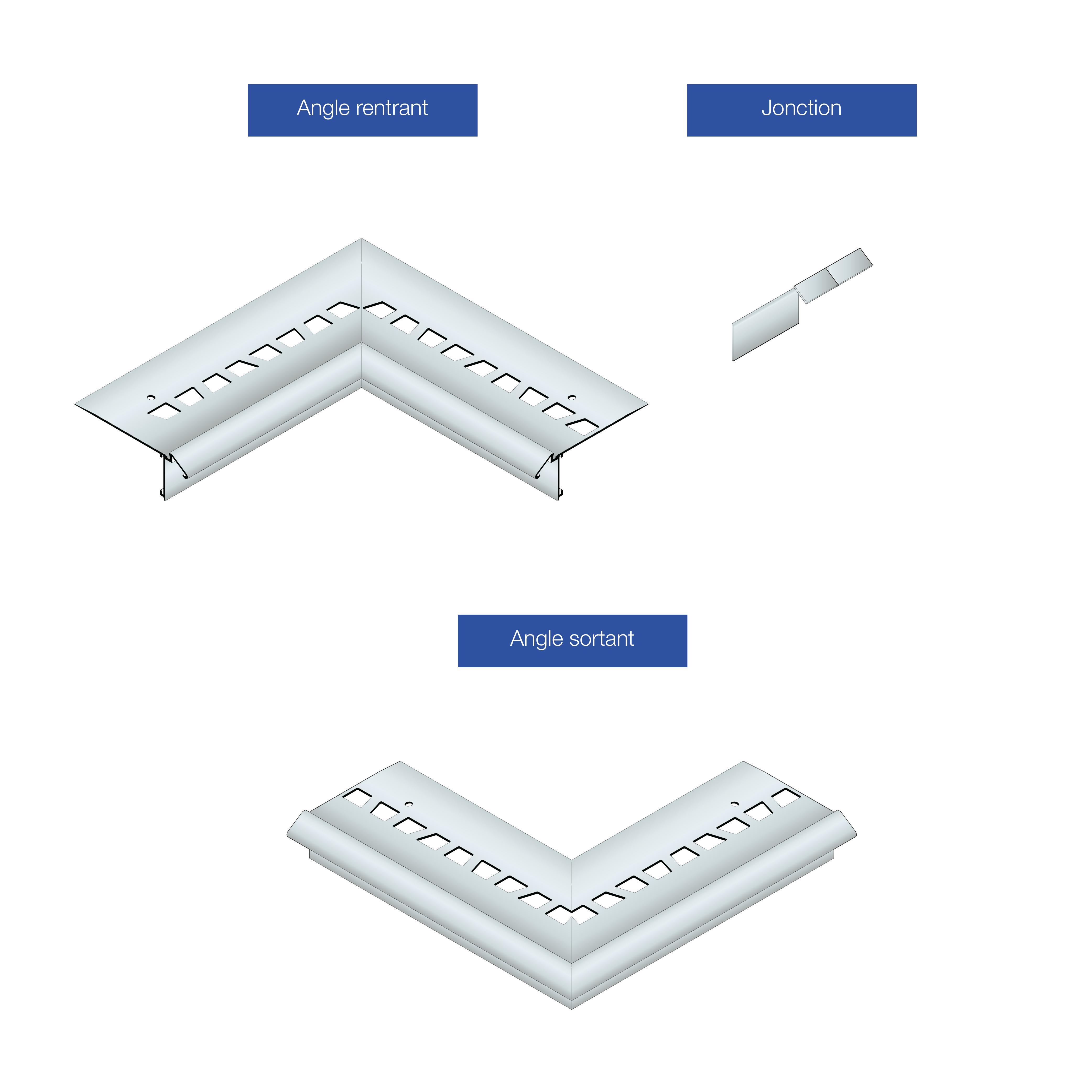 dani alu profil s de finition en aluminium pour syst mes d tanch it liquide. Black Bedroom Furniture Sets. Home Design Ideas